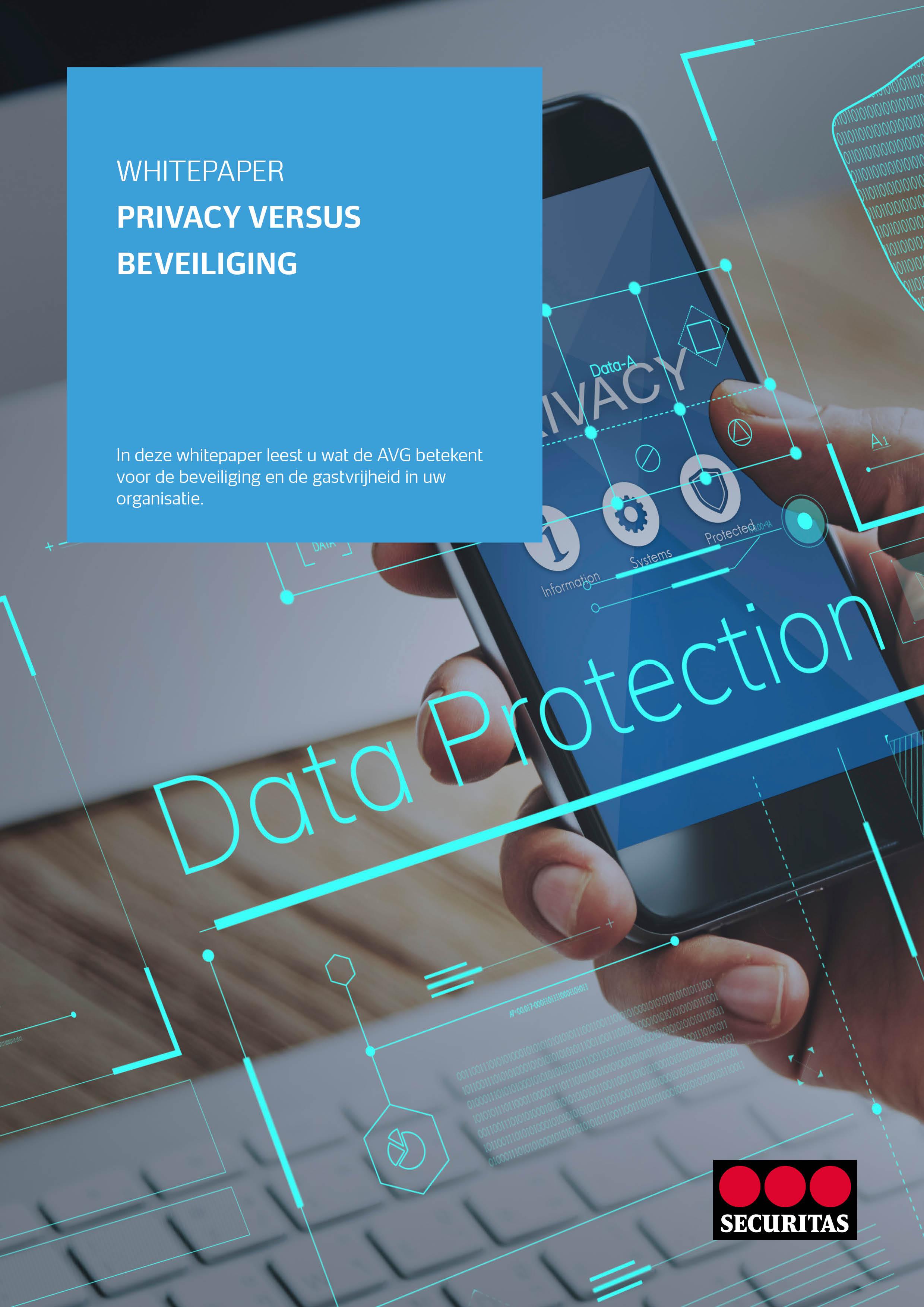 Cover Whitepaper Privacy versus veiligheid